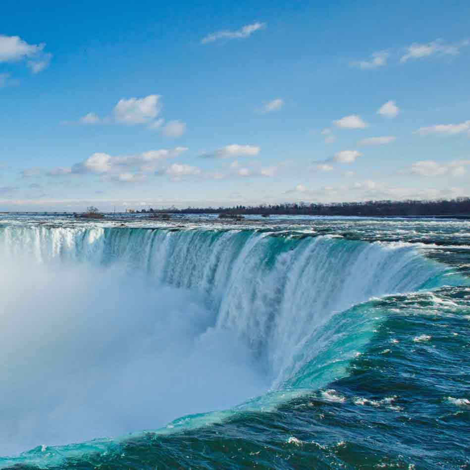 how to get from pearson airport to niagara falls